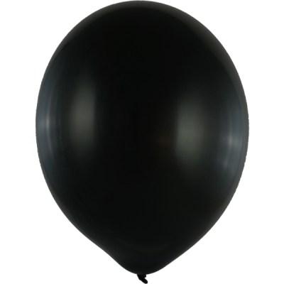 Latexballon 60cm schwarz 1