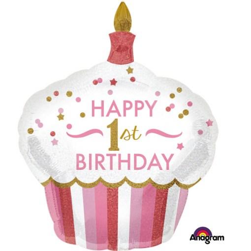 1st Birthday Muffin