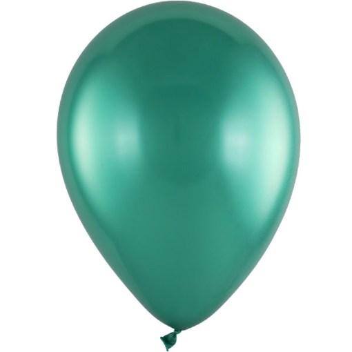 Latexballon 28cm Chrome 273 gruen