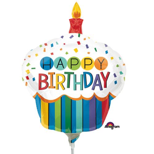Happy Birthday Muffin H 91cm