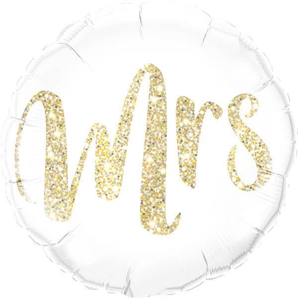 Mrs. Folienballon d 45cm