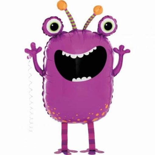 Lila Monster-Ballon - Jetzt kaufen!