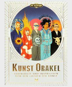 Kunst-Orakel, Lebenshilfe und Inspiration, 50Karten, 119x159mm Cover