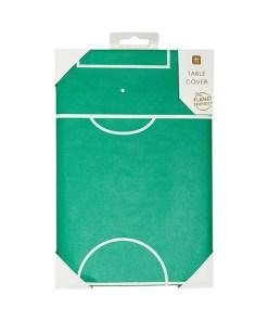 Papiertischdecke Motiv Fussballfeld Verpackt