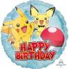 45cm Rund Pikachu Pokemon Geburtstag