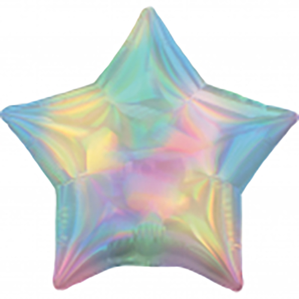 45cm Stern irisierend pastell
