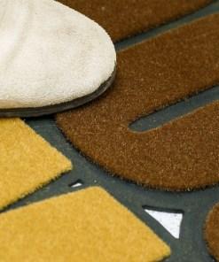 FUSSMATTE WELCOME&GOODBYE GUMMI 41X75CM Polyester Detail