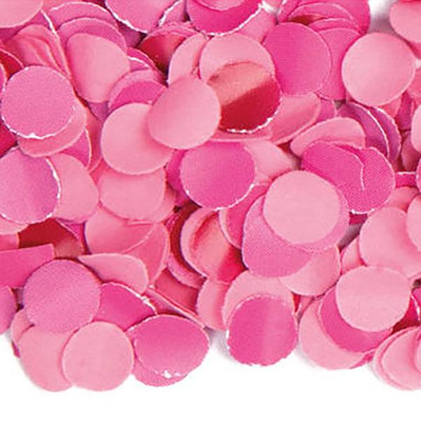 Konfetti, uni rosa, Papier 100gr