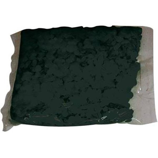 Konfetti, uni schwarz, Papier 100 g