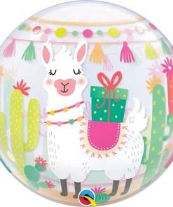 Happy Birthday, Cactus, Bubble, 56cm Rückseite