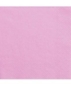 Servietten, pink, dreilagig, 20 Stk., 33 x 33 cm