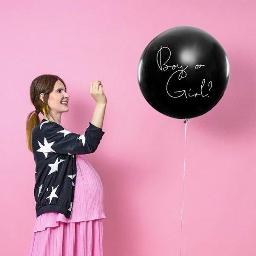 Ballon, Ueberraschungsballon, Gender Reveal,- Girl. 1m, 02
