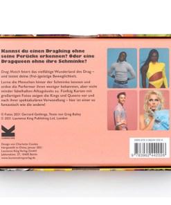 Drag Match, Finde den Vorher-Nachher-Look, Memo-Spiel, 40 Karten, 144x100x47mm, Box Rueckseite