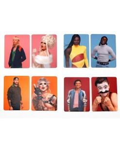 Drag Match, Finde den Vorher-Nachher-Look, Memo-Spiel, 40 Karten, 144x100x47mm, Kartenbeispiel 4
