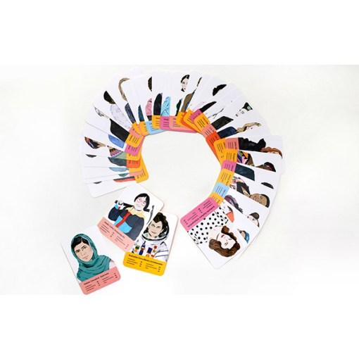 Fantastische Frauen, Kartenspiel, Box, 32 Karten, 119x158x40mm, Karten 2