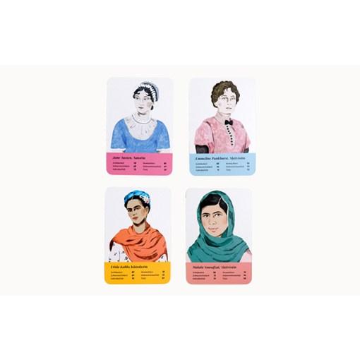 Fantastische Frauen, Kartenspiel, Box, 32 Karten, 119x158x40mm, Karten 3