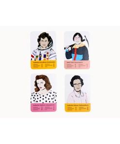 Fantastische Frauen, Kartenspiel, Box, 32 Karten, 119x158x40mm, Karten 4