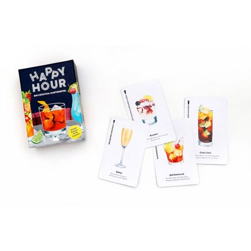 Happy Hour, Ein Cocktail-Spiel, Box, 52 Karten, 100x140x50mm, Box und Karten 3