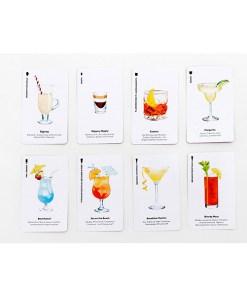 Happy Hour, Ein Cocktail-Spiel, Box, 52 Karten, 100x140x50mm, Kartenbeispiel 1