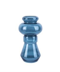 Vase 'Morgana' medium, dunkelblau, H 35cm, D 18 cm