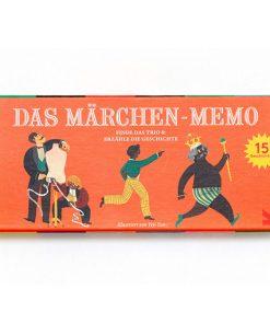 Das Maerchen Memo, Box, 45 Karten und Booklet, 235 x 125 x 34 mm, Cover