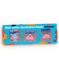 Mein erstes Geschichten Puzzle ''Zuhause'' 15 Puzzleteile, 270 x 95 x 37mm, Box Cover