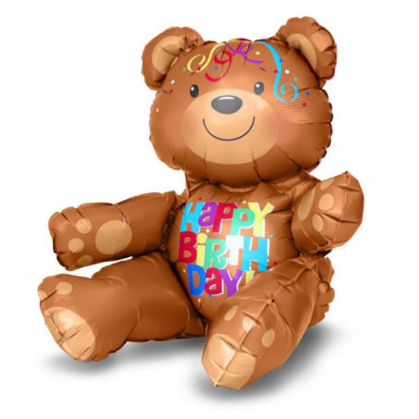 Teddybaer, Folienballon, 43 x 48 cm