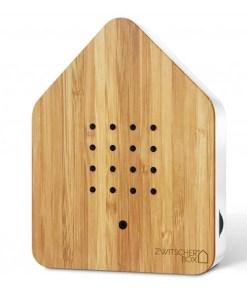 Zwitscherbox Bambus B 110 x H 145 x T 35mm Ahorn ABS Kunststoff Front