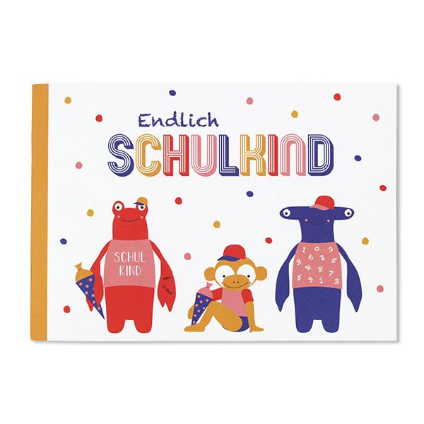 Ich bin Schulkind, Einschulungsalbum,– Hummer und Hammerhai, A5, 24 Seiten, Cover