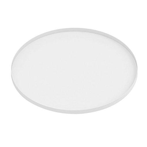 Tablett, rund, weiss, D 39,5 cm, H 1,5 cm