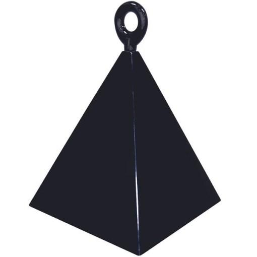 BALLONI, Ballongewicht Pyramide, schwarz, 150g, 6,2cm