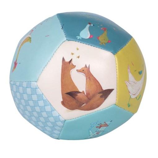 Weicher Ball ''Le voyage d'Olga'', PVC, D 10 cm, Seitenansicht 2