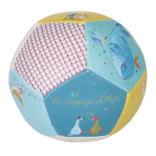 Weicher Ball ''Le voyage d'Olga'', PVC, D 10 cm, Seitenansicht 3