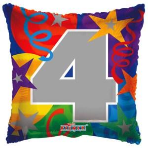 Cijfer ballon party, kies zelf het getal