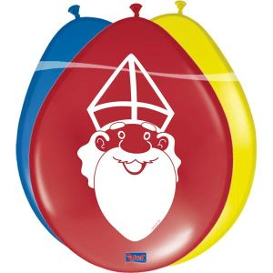 Sinterklaas Ballonnen 30cm