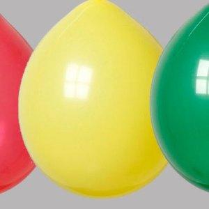 Zak met 50 Ballonnen nr 8 Rood Geel Groen