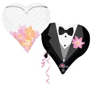 Wedding Couple Hearts