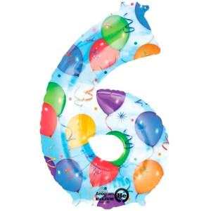 Nummer 6 (balloons) -50%