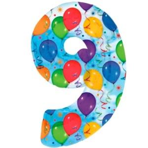 Nummer 9 (balloons) -50%