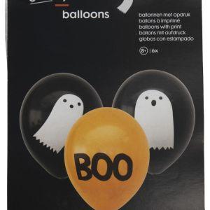 HEMA Ballonnen Halloween - 6 Stuks