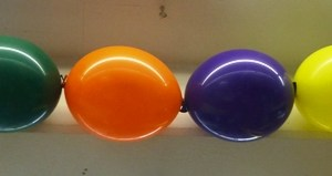 Ballonkette luftbefüllt einfach