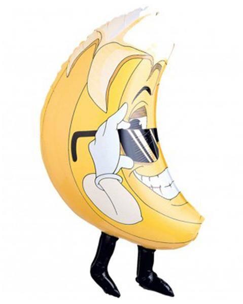 Μπαλόνι Μπανάνα με πόδια