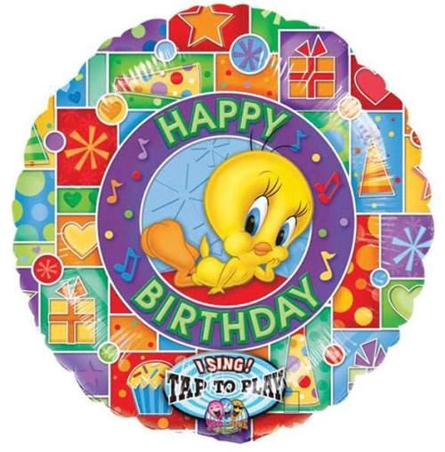 Μπαλόνι μουσικό Tweety 'Happy Bday'