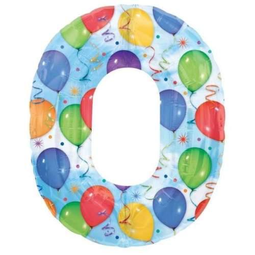 Μπαλόνι 86 εκ Αριθμός 0 balloons