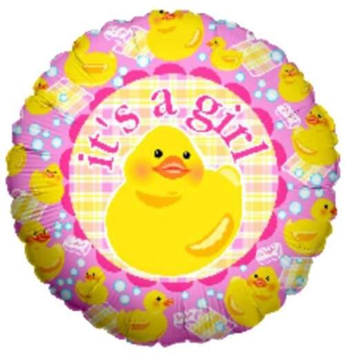 Μπαλόνι γέννησης παπάκι Its a Girl