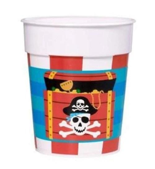 Ποτήρι πλαστικό Πειρατές (1 τεμ)