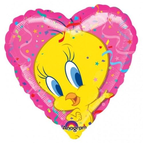 Μπαλόνι Tweety ροζ Καρδιά