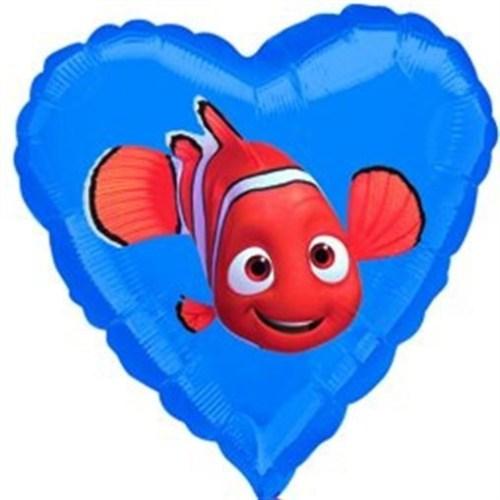 Μπαλόνι Καρδιά Nemo