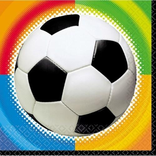 Χαρτοπετσέτες μπάλα Ποδοσφαίρου (16 τεμ)