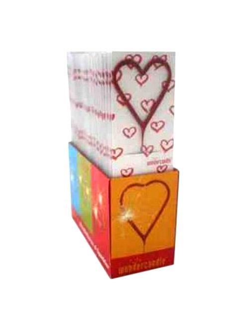 Καρδιά stick ιριδίζουσα (1 τεμ)